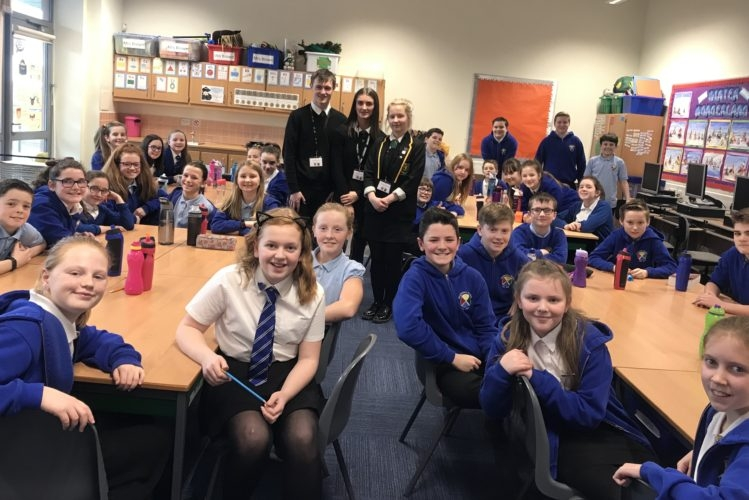 The Idiom Initiative facilitated by Idiom, a Branch of Young Enterprise based in Dumfries High School