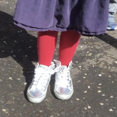 Yester Primary School's Shoe Shop